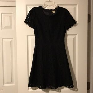 J. Crew Factory Lace Flare Dress